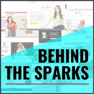 BEHIND THE SPARKS